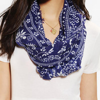 Woodblock Eternity Scarf