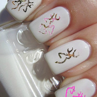 Browning Deer Nail Decals 50 per purchace