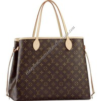 Cheap Louis Vuitton Monogram Canvas Neverfull GM M40157 Replica Bags