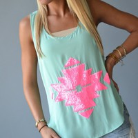 Piace Boutique - Summer Breeze Tank in Tops
