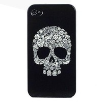 Personality Skull Hard Plastic Case for iPhone 5