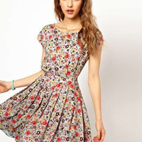Paul and Joe Sister Bright Floral Print Dress at asos.com