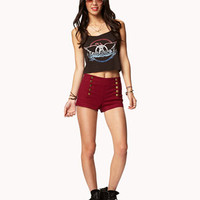 Cuffed Sailor Shorts | FOREVER 21 - 2041076480