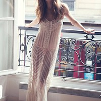 Free People Meadows of Lace Slip