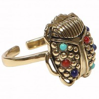 Scarab Ring - Jewelry | GYPSY WARRIOR