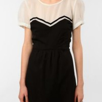 UrbanOutfitters.com > Coincidence & Chance Short-Sleeved Chiffon Dress