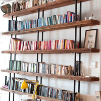 Tribeca Bookcase by artavironi on Etsy - Need Cheaper Version
