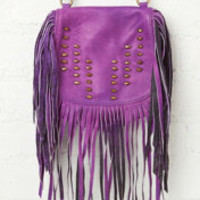 Vanessa Mooney Jagger Fringe Crossbody at Free People Clothing Boutique