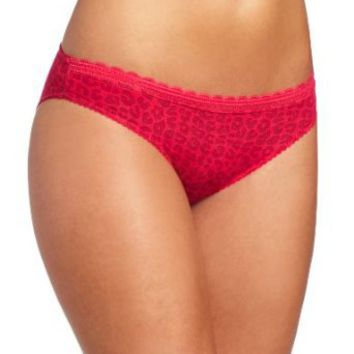 Barely There Women's Go Girlie Chill Chick Rayon Spandex Bikini Panty