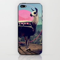 Llama iPhone & iPod Skin | Print Shop