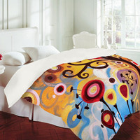 Natasha Wescoat June Tree Duvet Cover