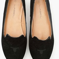 Wild Cat Loafer - Black