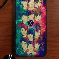 EXO (12 members) Illustration case (available in various devices)