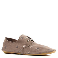 Anniel The Derby Shoe in Taupe Leather and Stars : Karmaloop.com - Global Concrete Culture