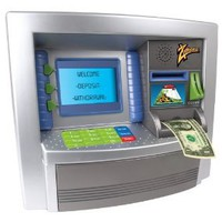 Amazon.com: Savings Goal ATM Bank: Toys &amp; Games
