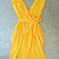 Dancing Saffron Party Dress [3035] - $44.00 : Vintage Inspired Clothing & Affordable Fall Frocks, deloom | Modern. Vintage. Crafted.