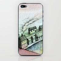 dreamscape iPhone &amp; iPod Skin by Marianna Tankelevich