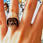 Darth Vader Star Wars Ring  from MustHeaven