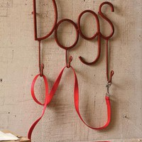 dogs coat hook | forged iron coat hook