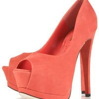 SERENADE High Peep Toe Platforms - Heels - Shoes - Topshop