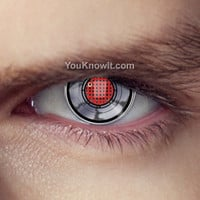 Terminator Robot Eye Contact Lenses (Pair) | Coloured Contact Lenses