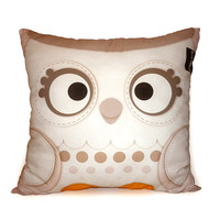 Deluxe Pillow Snow Owl by mymimi on Etsy