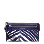 Coach :: Legacy Zebra Print Zippy Wallet
