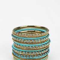 Urban Outfitters - Mixed Up Bangle Bracelet - Set of 20