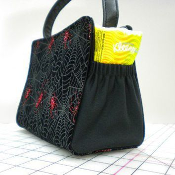 MINI POCKET PAL COVER FITS MAGNETIC BAG UNDER SHELL creates 2 pockets | 1SewingPro - Bags & Purses on ArtFire