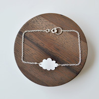 Silver Cloud Bracelet