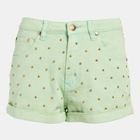 MINKPINK &#x27;Cheeky Stud&#x27; High Waist Shorts | Nordstrom