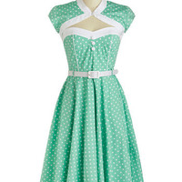 Soda Shop Sweetie Dress | Mod Retro Vintage Dresses | ModCloth.com