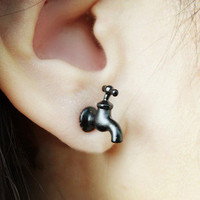 Black Tap Earrings