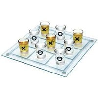 Maxam Shot Glass Tic Tac Toe Game
