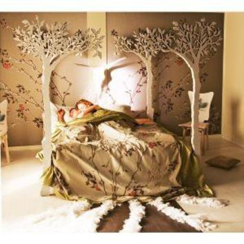 Under the apple tree canopy bed  Modern romantic by attiladesign