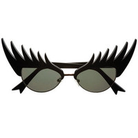 Black Eyelashes Sunglasses