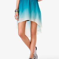Ombré High-Low Skirt | FOREVER 21 - 2020859928