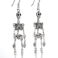 Skeleton Earrings (hanging)