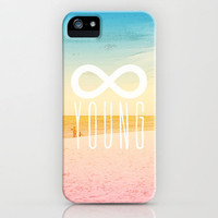 Forever Young iPhone Case by M Studio - iPhone 3G, 3GS, 4, 4S, 5, and iPod Touch 5th Gen