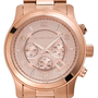 Michael Kors &#x27;Large Runway&#x27; Rose Gold Watch | Nordstrom