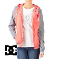 DC Drummond Hoody - Hot Coral