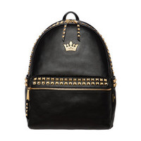 Rock Studed Crown Backpack