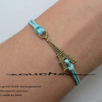 bracelets -restoring ancient ways is the Eiffel Tower Bracelets, Bracelet is not the same meaning-Special gift