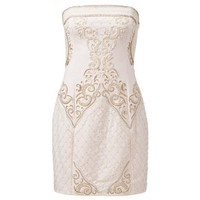 Oksana Embellished Shift Dress - Forever New