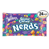 Wonka Nerds Giant Chewy Candies, 1.8-Ounce Bag (Pack of 24): Amazon.com: Grocery & Gourmet Food