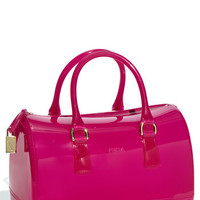 Furla 'Candy' Transparent Rubber Satchel | Nordstrom