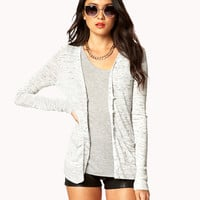 Essential Heathered Cardigan | FOREVER21 - 2028185362