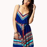 Diagonal Stripe Dress