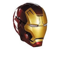 Amazon.com: Iron Man Mark 42 Helmet Adult Accessory: Clothing
