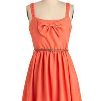 Cut to the Coral Dress | Mod Retro Vintage Dresses | ModCloth.com